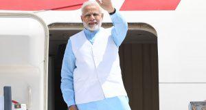 The Prime Minister, Shri Narendra Modi emplanes for Rwanda, Uganda and South Africa from New Delhi on July 23, 2018.
