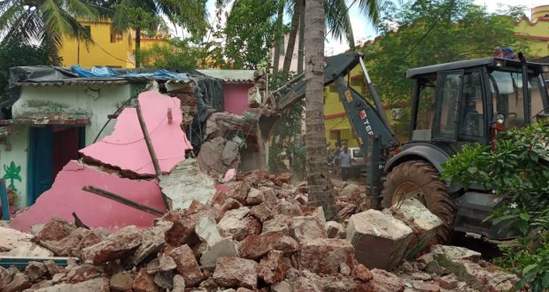 Demolition-drive