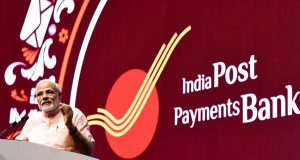 The Prime Minister, Shri Narendra Modi addressing at the launch of the India Post Payments Bank, in New Delhi on September 01, 2018.