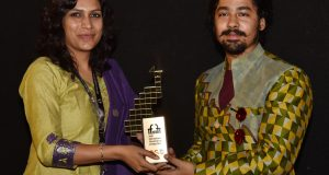 Actor of the film- 'Nagarkirtan' Riddhi Sen, at the Presentation, during the 49th International Film Festival of India (IFFI-2018), in Panaji, Goa on November 26, 2018.