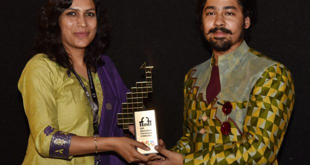 Actor of the film- 'Nagarkirtan' Riddhi Sen, at the Presentation, during the 49th International Film Festival of India (IFFI-2018), in Panaji, Goa on November 26, 2018.