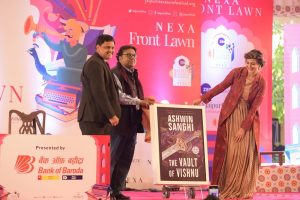 The Vault of Vishnu by Ashwin Sanghi launched by Sonali Bendre Behl