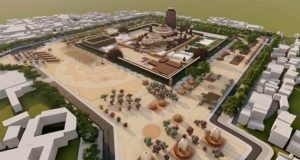 Ariel View of proposed Jagannath Temple in London