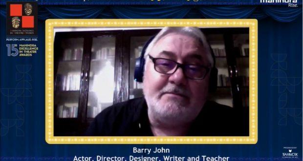 Barry John, META Lifetime Achievement Awards 2020