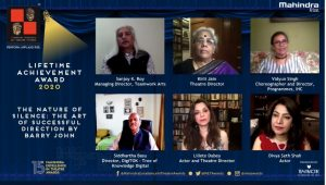 Panel Discussion- The Nature of Silence- The Art of Successful Direction by Barry John