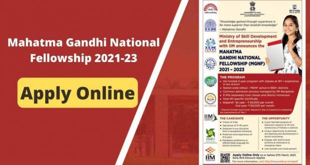 Mahatma-Gandhi-National-Fellowship-2021-23-For-Graduates-Apply-Online-1024x576