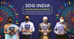 NITI-Aayog-Vice-Chairperson-Dr-Rajiv-Kumar-launches-SDG-India-Index-and-Dashboard-2020–21